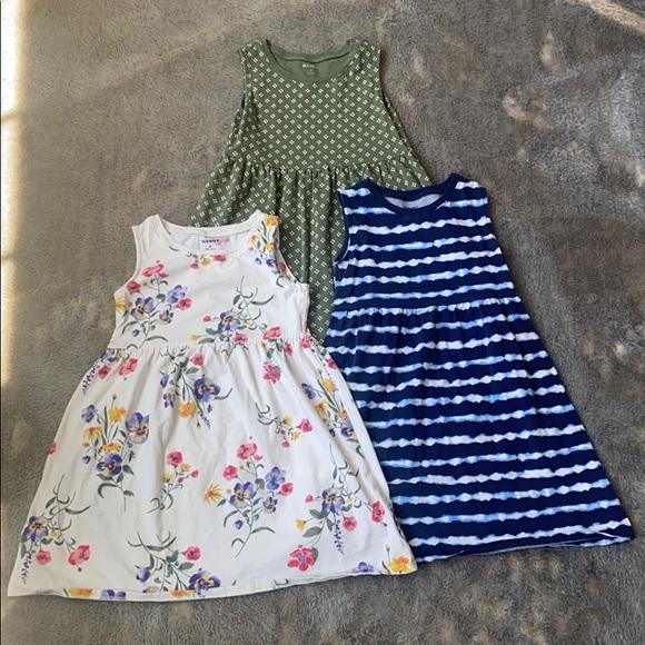 Trio of Old Navy 5T sun dresses